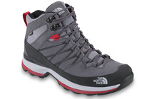 The North Face Men's Wreck Mid GTX zinc grey/tnf red